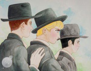 Boro Park_Thomas_Lay_Jewish_Manga_Art